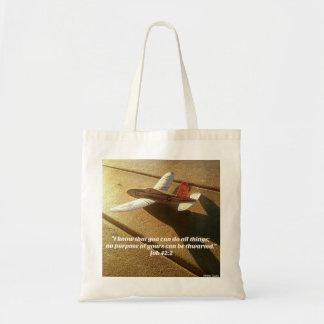 Tote Bag Vers de bible du livre du travail