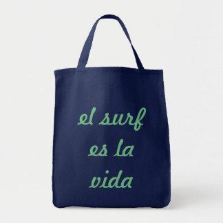 Tote Bag vida fourre-tout de La du surf es d'EL