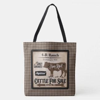 Tote Bag Vie à la campagne Fourre-tout personnalisé