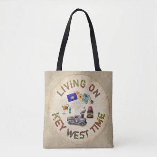 Tote Bag Vie le temps de Key West