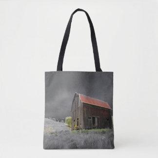 Tote Bag Vieille ferme rustique de cru de grange