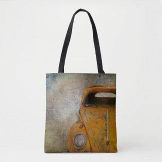 Tote Bag Vieille voiture ancienne rouillée