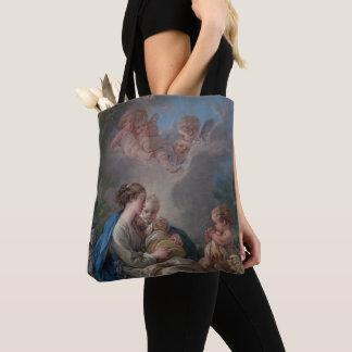 Tote Bag Vierge et enfant avec le St John le baptiste
