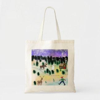 Tote Bag Village d'hiver