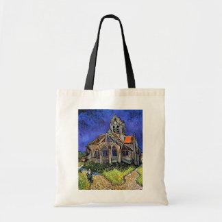 Tote Bag Vincent van Gogh - l'église chez Auvers