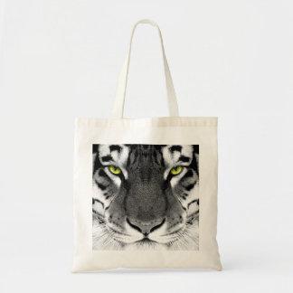 Tote Bag Visage de tigre - tigre blanc - tigre de yeux -