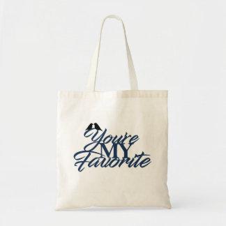 Tote Bag Vous êtes mon favori - Fourre-tout