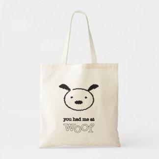 Tote Bag Vous m'avez eu chez Woof Fourre-tout