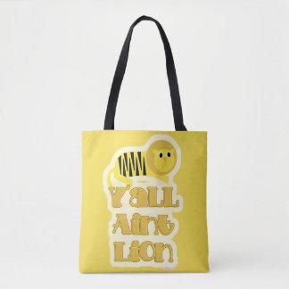 Tote Bag Vous n'êtes pas dire de lion