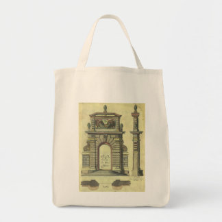 Tote Bag Voûte vintage de porte de jardin, architecture de