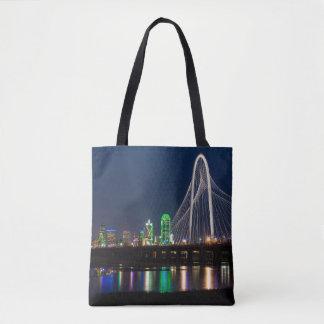Tote Bag Vue de pont de Dallas