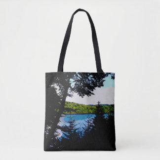Tote Bag Vue fourre-tout de lac
