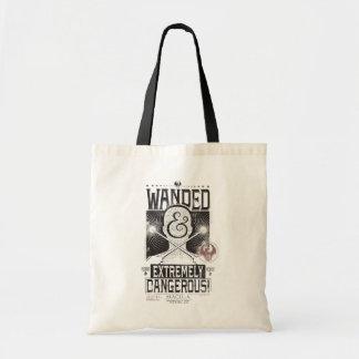 Tote Bag Wanded et affiche voulue extrêmement dangereuse -