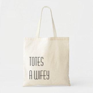 TOTES un Wifey Tote Bag