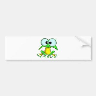 Totty le Froglet Autocollant Pour Voiture