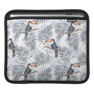Toucan gris poches iPad