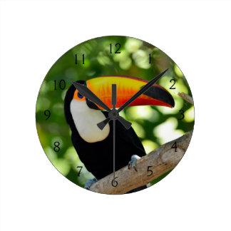 Toucan Horloge Ronde