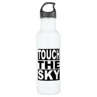 Touchez le ciel bouteille d'eau en acier inoxydable