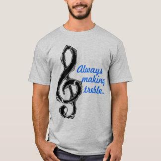 Toujours fabrication du triple t-shirt