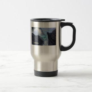 Toujours fidèle mug de voyage en acier inoxydable