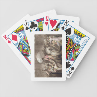 Toulouse, le 10 avril 1814, 'des victoires de cartes à jouer