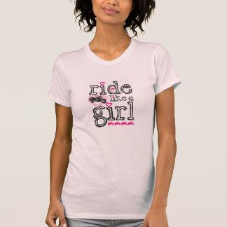Tour comme une fille - croiseur t-shirt
