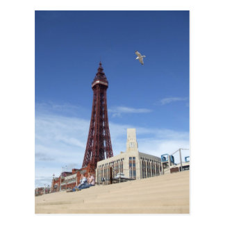 Tour de Blackpool Carte Postale