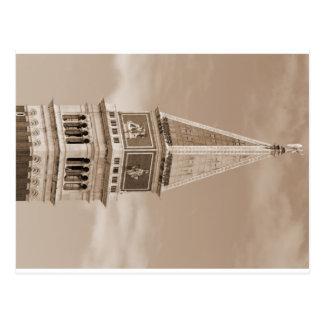 tour de cloche de marque de Sain à Venise en Carte Postale