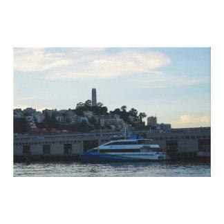 Tour de Coit, toile de San Francisco #4
