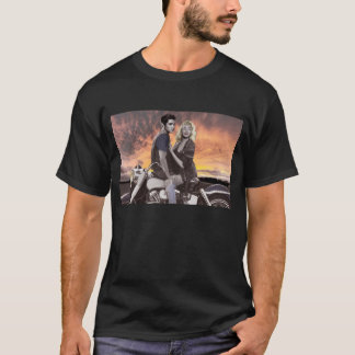 Tour de coucher du soleil t-shirt