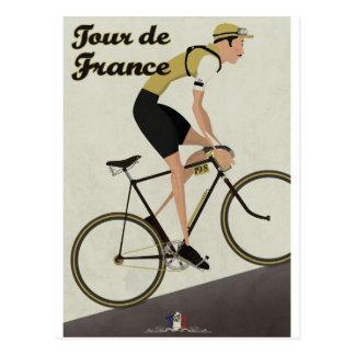 Tour de France Carte Postale