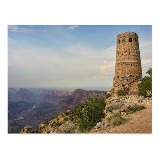 Tour de guet chez Desertview en canyon grand Carte Postale