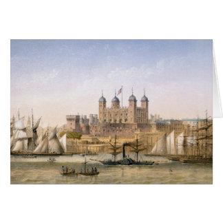 Tour de Londres, c.1862 (litho de couleur) Cartes
