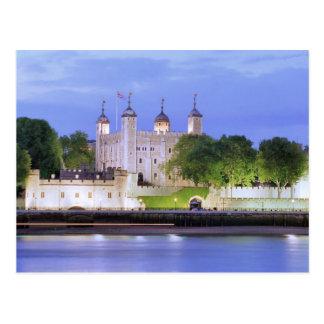 Tour de Londres et de Tamise Carte Postale