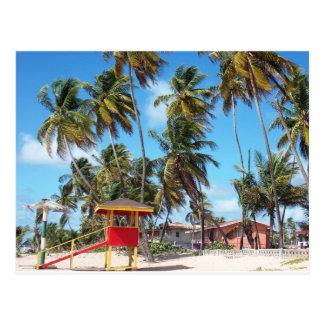 Tour de maître nageur de plage de Mayaro, carte