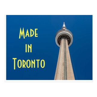 Tour de NC carte postale à Toronto, Canada