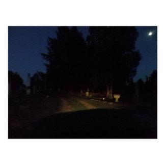 Tour de nuit carte postale