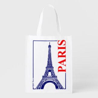 Tour de Paris-Eiffel Sac Réutilisable