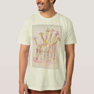 Tour de T-shirt de girafes