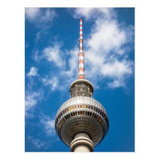 Tour de télévision à Berlin (Allemagne) Carte Postale
