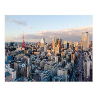 Tour de Tokyo Carte Postale
