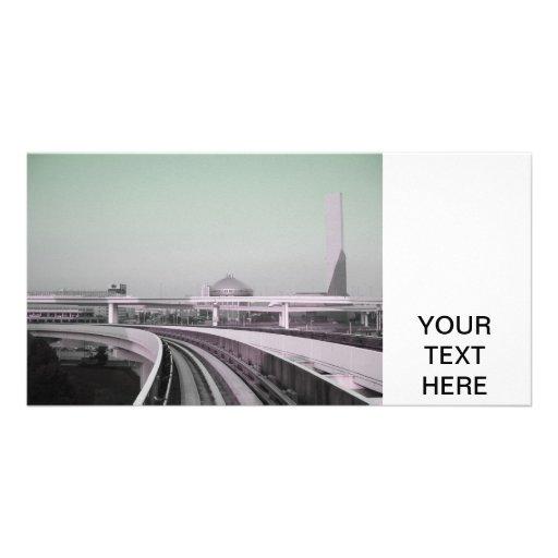 Tour de train à Tokyo Photocartes Personnalisées