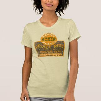 Tour de velours de tracteur de Massey Harris T-shirts