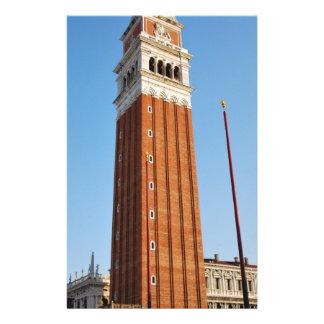 Tour de Venise Papier À Lettre Personnalisable
