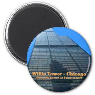 Tour de Willis - autrefois connue sous le nom de Magnet Rond 8 Cm