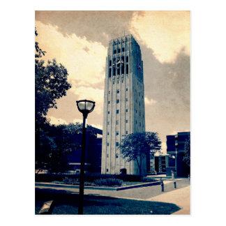 Tour d'horloge d'Ann Arbor Carte Postale