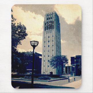 Tour d'horloge d'Ann Arbor Tapis De Souris