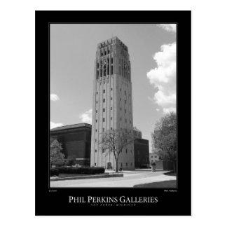 Tour d'horloge d'Université du Michigan Carte Postale