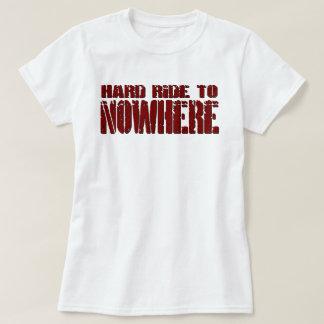 Tour dur au T-shirt de nulle part