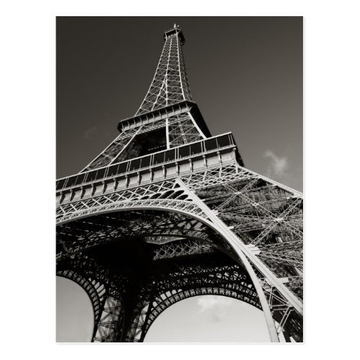 Tour Eiffel à Paris Carte Postale
